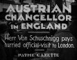 Austrian Chancellor In England