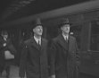 PRESIDENT DE VALERA ARRIVES AT HOLYHEAD