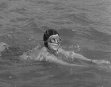 MISS MARWELL ABRAHAMSON IN TRAINING FOR CHANNEL SWIM