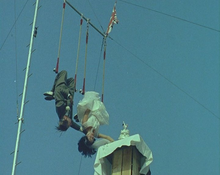 Trapeze Wedding