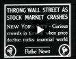Throng Wall Street As Stock Market Crashes