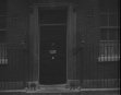 No. 10 Downing Street.  Cuts Peaceful Years.  AKA Front Door No.10