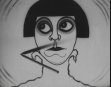 Weird German Crying Caricature - 1920's