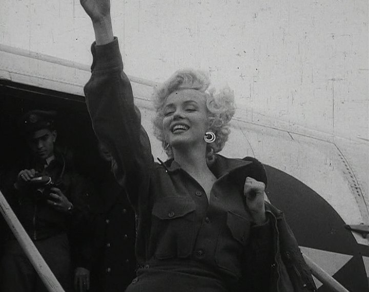 Who visited Marilyn the day before she died?