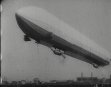 MAIDEN FLIGHT OF GERMAN AIRSHIP