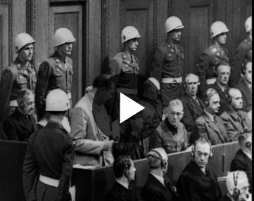 The Nuremberg Trials Began