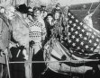 NEW YORK aka MRS ROOSEVELT LAUNCHES RAFT, 1937