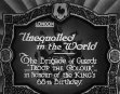 Unequalled In The World
