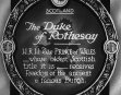 The Duke Of Rothesay