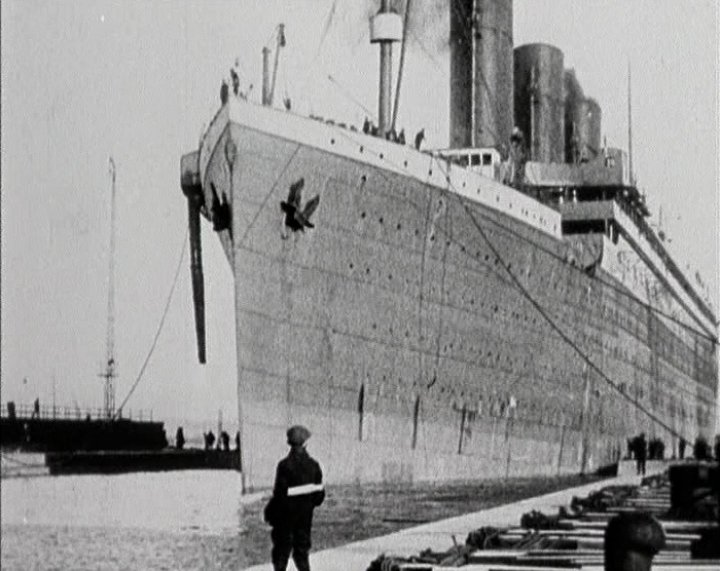 Fitting out the Titanic