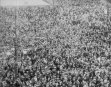 Crowds Acclaim Mussolini - Rome 1922