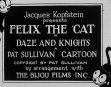 Felix The Cat - Daze And Knights