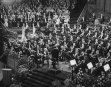 QUEEN JULIANA ATTENDS CONCERT IN AMSTERDAM