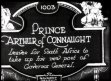 Prince Arthur of Connaught leaves for South Africa