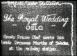 NORWAY / ROYAL: Royal Wedding of Crown Prince Olav and Princess Martha