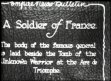 FRANCE / ARMED FORCES: Funeral of General Ferdinand Foch