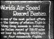 D'Arcy Greig beats World Air Speed Record