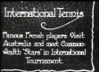 AUSTRALIA / TENNIS: International tennis tournament