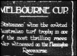 AUSTRALIA: HORSE RACING:  Melbourne Cup - Racing