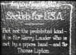 USA: Scotsmen Sir Harry Lauder and Sir Thomas Lipton visit America