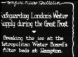 WEATHER: The Great Frost: safeguarding London's water supply